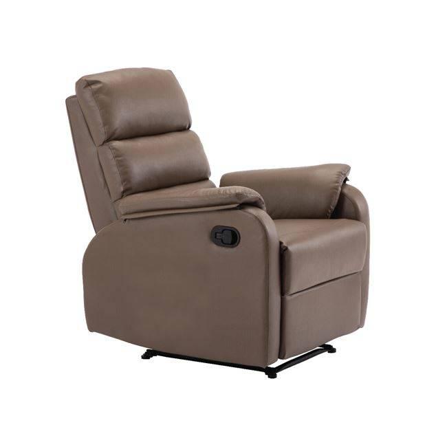 Πολυθρόνα Relax Pu Cappuccino