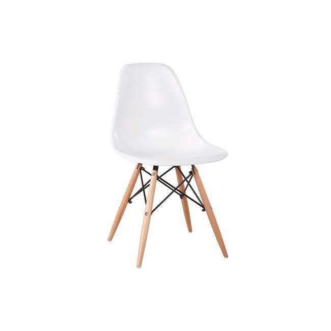 ART Wood Καρέκλα PP Λευκό ΕΜ123,1W