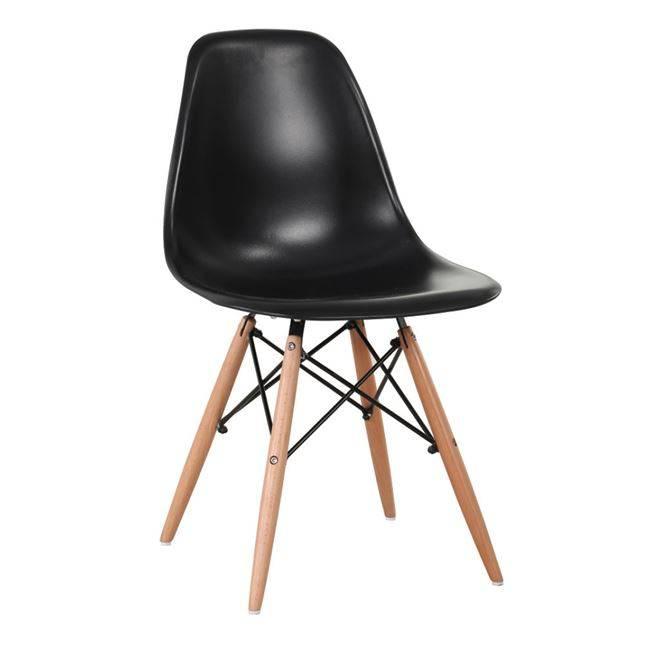 ART Wood Καρέκλα PP Μαύρο ΕΜ123,2W