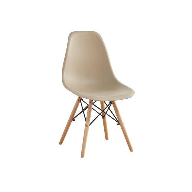 ART Wood Καρέκλα PP Tortora ΕΜ123,9W