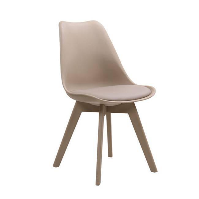 MARTIN-II Καρέκλα PP Tortora (πόδι PP) ΕΜ137,9