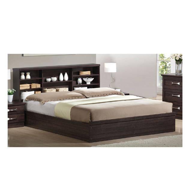 LIFE Κρεβάτι-Ράφια 160x200 Zebrano ΕΜ362