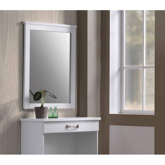 LIFE Καθρέπτης 72x93 Άσπρος ΕΜ368,1