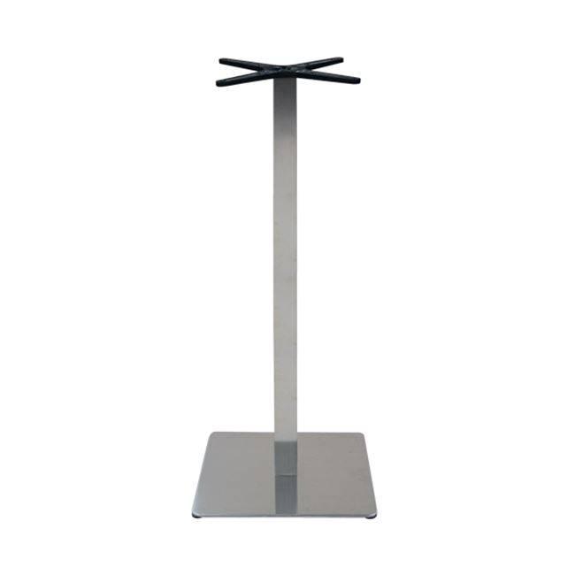 PRESTON BAR Βάση 45x45/H108cm #201 Inox ΕΜ680