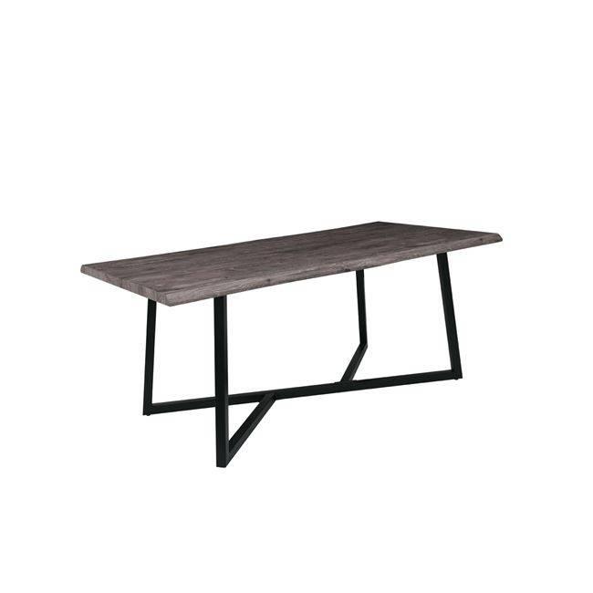 NOMAD Τραπέζι 180x90cm Brown Oak/Βαφή Μαύρη ΕΜ830,1