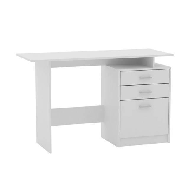 DECON Γραφείο 120x48cm Άσπρο ΕΟ3036