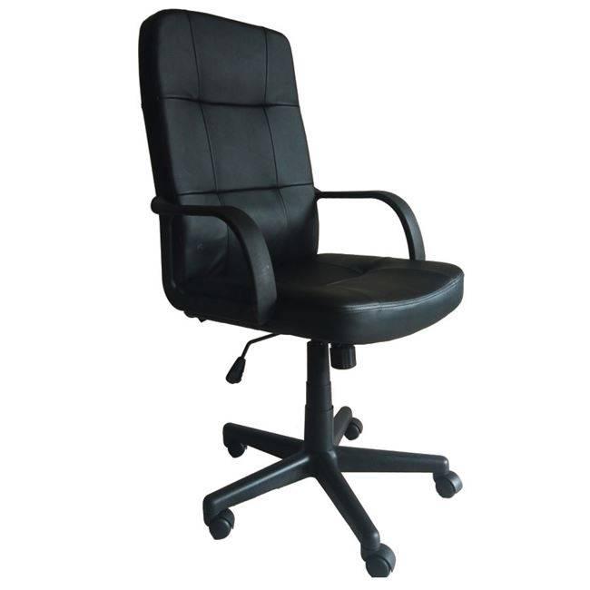 BF1000 Πολυθρόνα Διευθ.Μαύρο Pu ΕΟ500