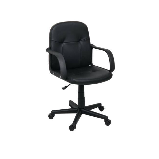 BF1050 Πολυθρόνα Μαύρο PVC ΕΟ508,7