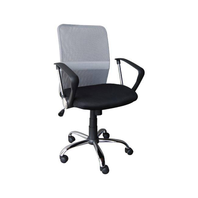 BF2009 Πολυθρόνα Γκρι/Μαύρο ΕΟ516,1