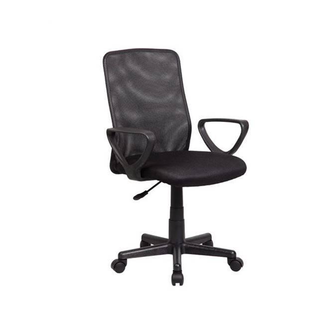 BF2007 Πολυθρόνα Μαύρη ΕΟ517,4
