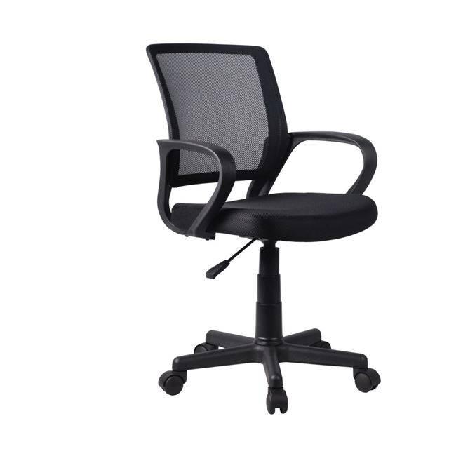 BF2010 Πολυθρόνα Μαύρο Mesh ΕΟ520,1