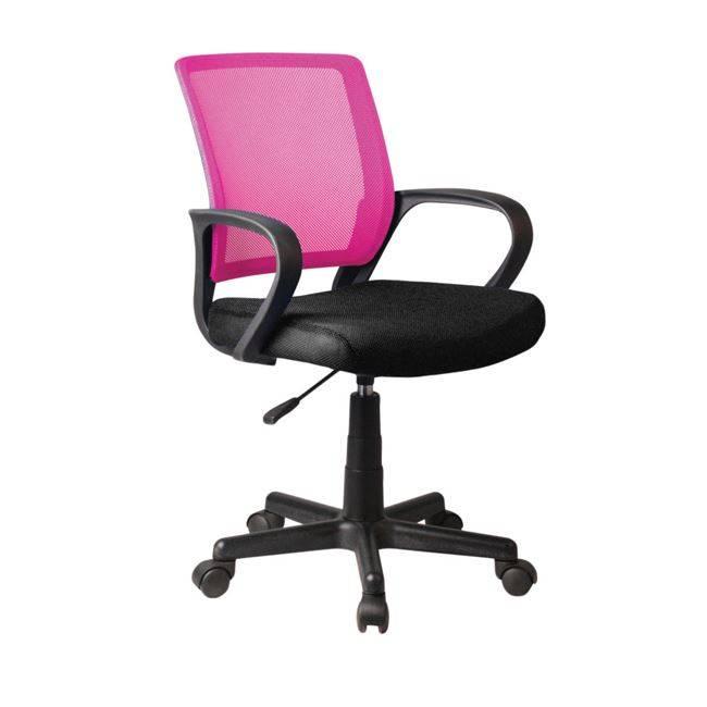 BF2010 Πολυθρόνα Ροζ/Μαύρο Mesh ΕΟ520,4
