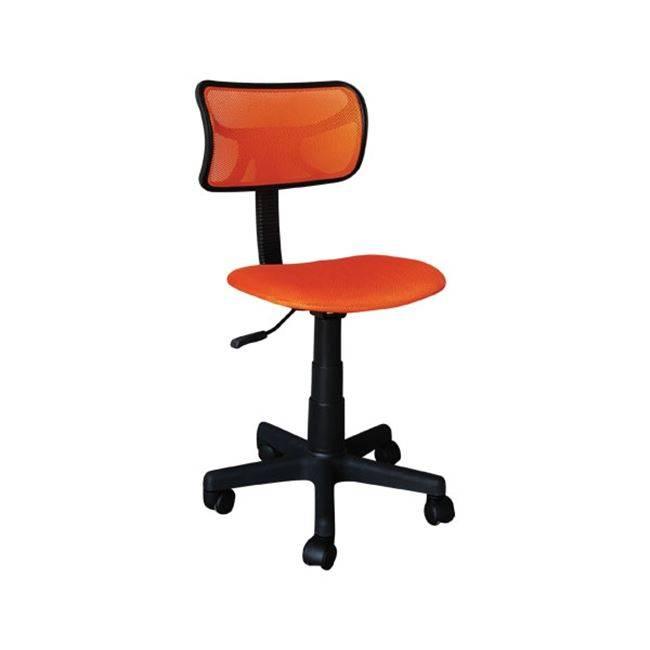 BF2005 Καρέκλα γραφείου παιδική Πορτοκαλί Mesh ΕΟ529,3