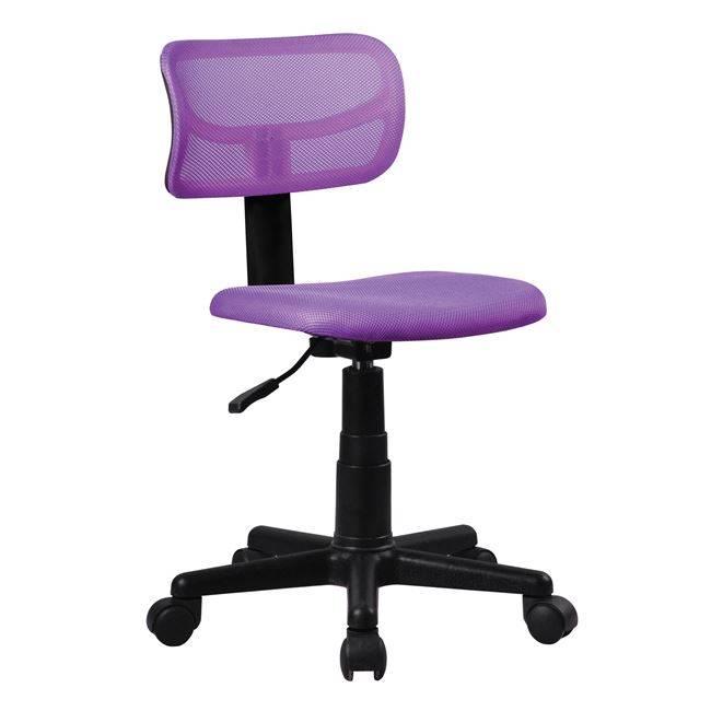 BF205 Καρέκλα γραφείου παιδική Μωβ Mesh ΕΟ529,60