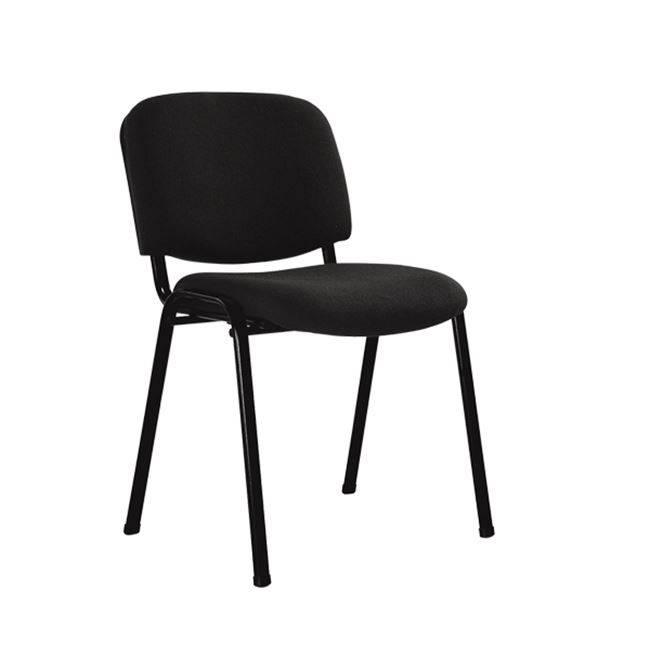 SIGMA στοιβ/νη Καρέκλα Μαύρη/Ύφασμα Μαύρο ΕΟ550,18