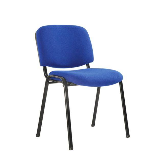 SIGMA στοιβ/νη Καρέκλα Μαύρη/Ύφασμα Μπλε ΕΟ550,19
