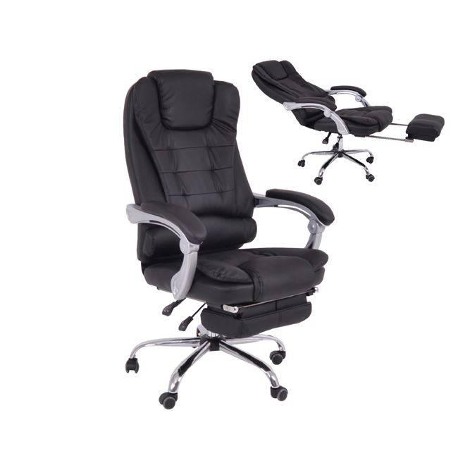 BF9700 Πολυθρόνα Διευθ.Relax PU Μαύρο ΕΟ573,1