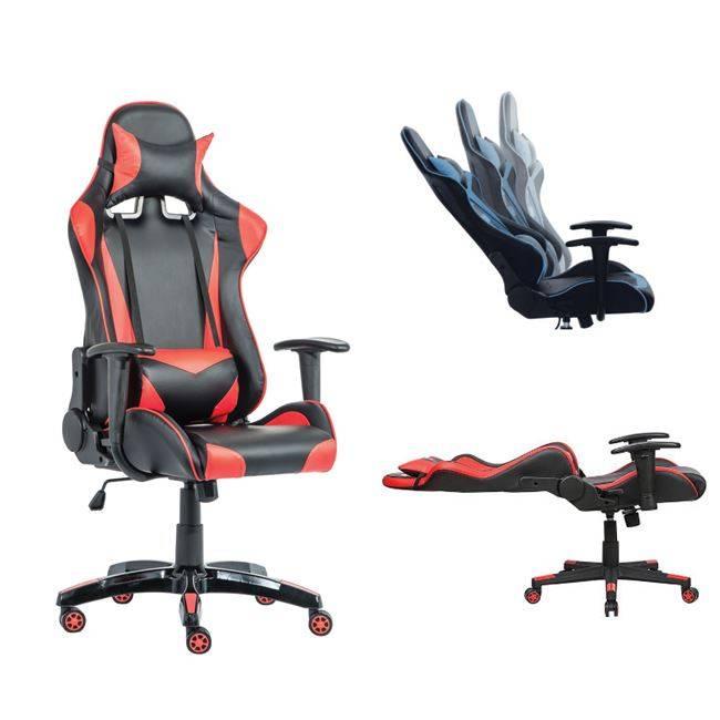 BF8050 Gaming Πολυθρόνα Διευθ/ντή Pu Μαύρο/Κόκκινο ΕΟ577