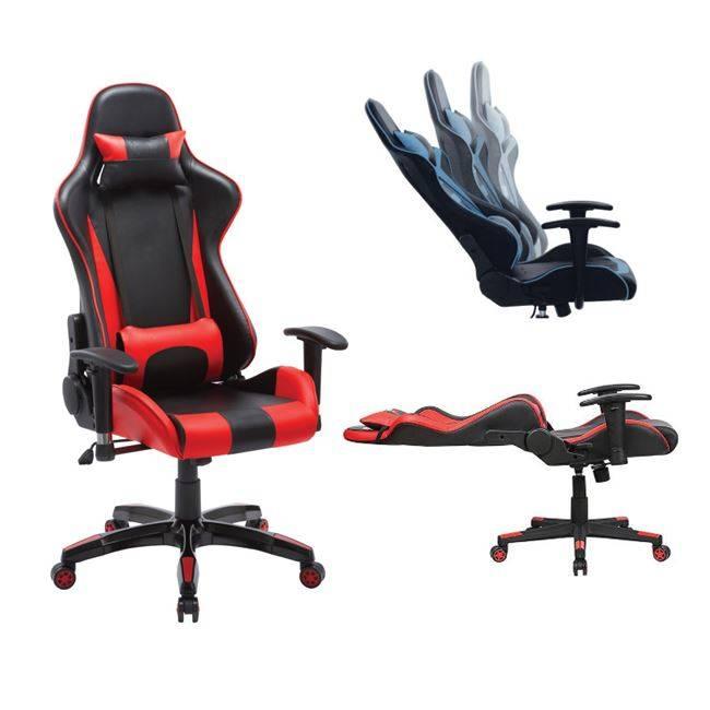 BF9000 Gaming Πολυθρόνα Διευθ/ντή Pu Μαύρο/Κόκκινο ΕΟ578