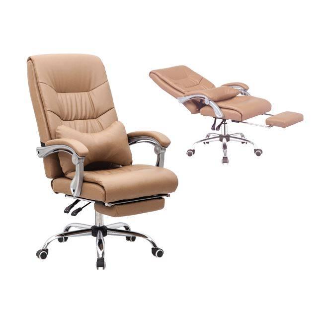 BF9650 Πολυθρόνα Διευθ.Relax Pu Μπεζ ΕΟ579,2