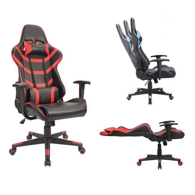BF9050 Gaming Πολυθρόνα Διευθυντή Pvc Μαύρο/Κόκκινο ΕΟ588,1