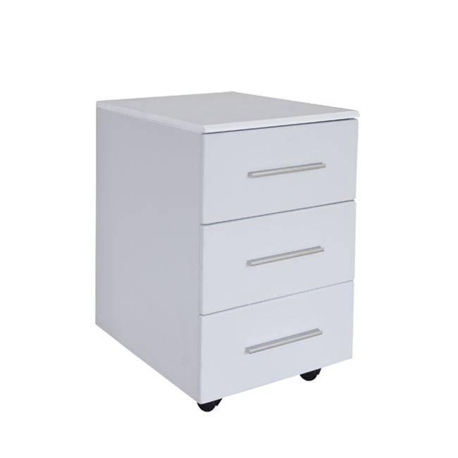 Συρταριέρα (3Σ) 40x54x63 Λευκή Melamine ΕΟ614,1