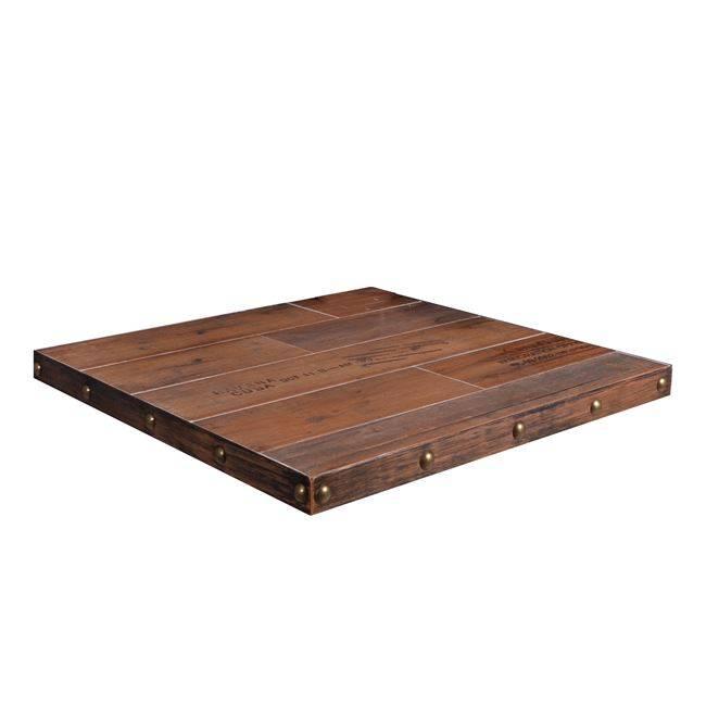 RETRO ΚΑΠΑΚΙ Κεραμικό 70x70/5cm Antique Brown (Εσ.Χώρου) Ε003,1