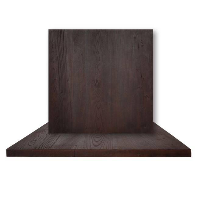 RESIN ΚΑΠΑΚΙ 80x80cm Καρυδί (Εσωτ.Χώρου) Ε006,3