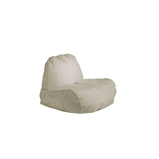 POGO Πολυθρόνα Πουφ Ύφ.Sand 100% Αδιάβροχο Ε020,2