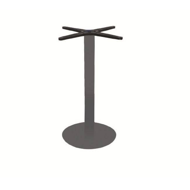 PRATO Βάση Φ40cm Steel H72cm Γκρι Ε070,8