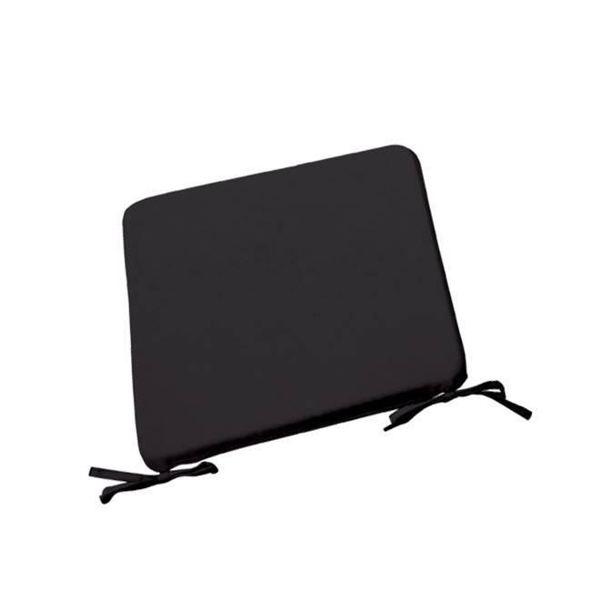 CHAIR Μαξιλάρι 42x42/3cm Μαύρο Ε203,Μ