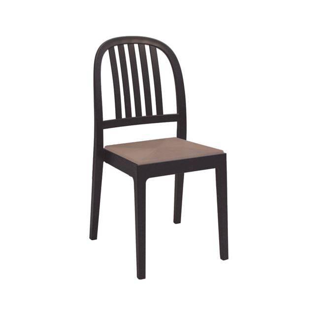 ERA Καρέκ.Πλαστική Καφέ Ε341,3