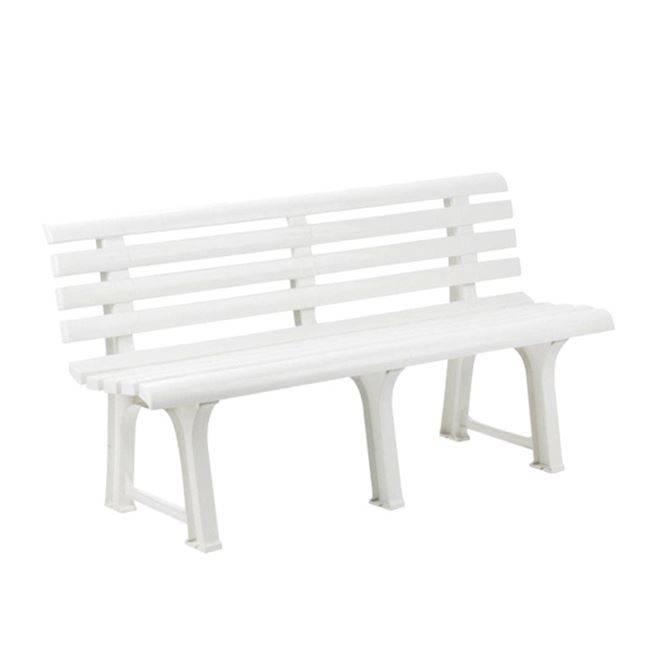 ORCHIDEA Παγκάκι Πλαστικό Άσπρο Ε346