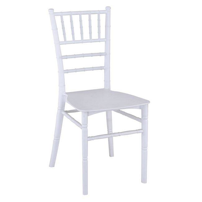 ILONA PP Καρέκλα Λευκή Ε370