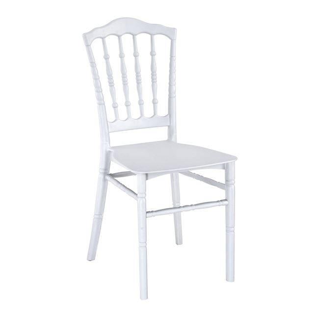 MILLS PP Καρέκλα Λευκή Ε371