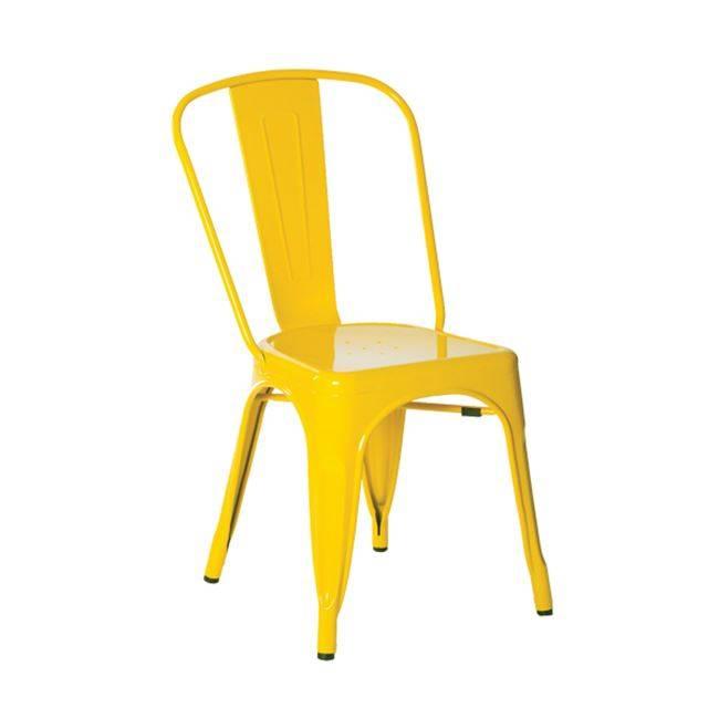 RELIX Καρέκλα Μεταλ.Κίτρινη High (Συσκ.10) Ε5191,9