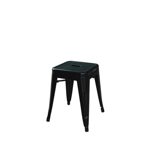 RELIX Σκαμπώ H.45cm Μαύρο (Συσκ.10) Ε5195,1
