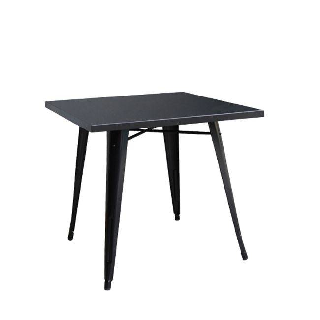 RELIX Τραπέζι 70x70 Μεταλ.Μαύρο Ε5200,11