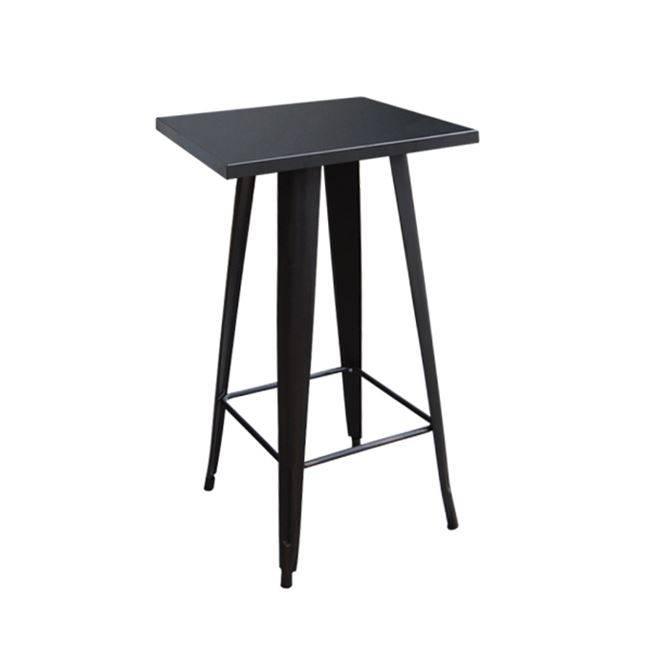 RELIX Τραπέζι BAR 60x60 Μεταλ.Μαύρο Ε5203,11