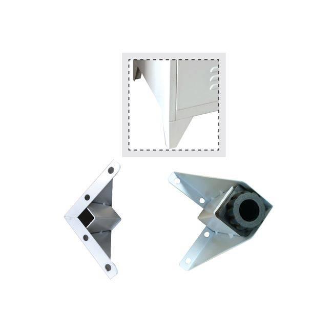 Ποδαράκια-Ρεγουλατόροι Γκρι Set-4 (για Ε600*) Ε600Α,1