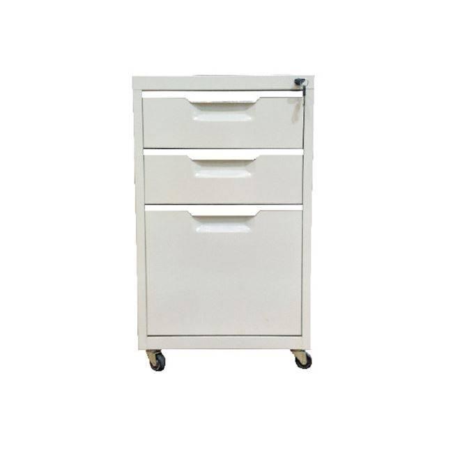Συρταριέρα Μεταλλική 40x50x67cm Λευκή Ε6007