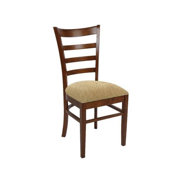 NATURALE-L Καρέκλα Καρυδί/Ύφ.Μπεζ Ε7052,2