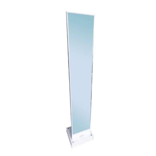KELVIN Καθρέπτης Δαπέδου 35x35x173cm Άσπρος Ε7181,2
