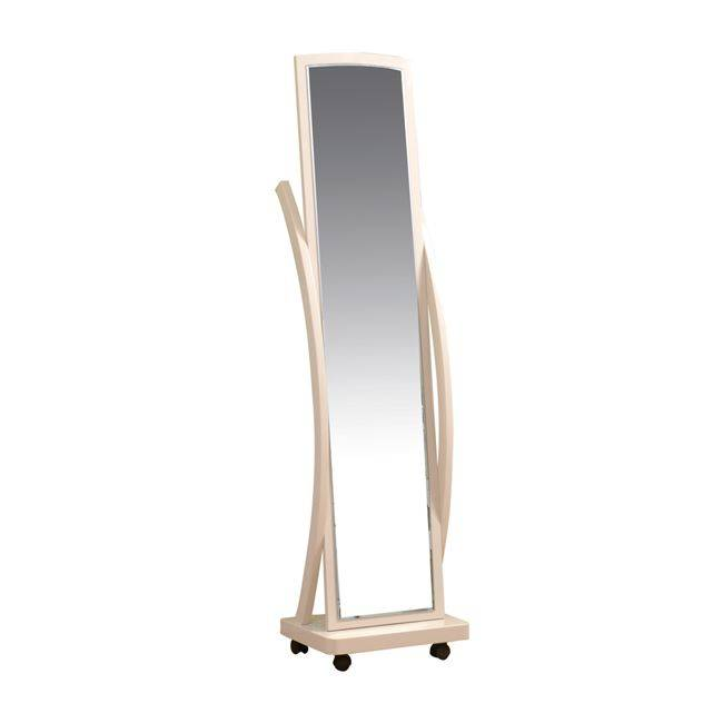 ROGER Καθρέπτης Δαπέδου 44x29x165cm απόχρ.Φυσικό Ε7183,1