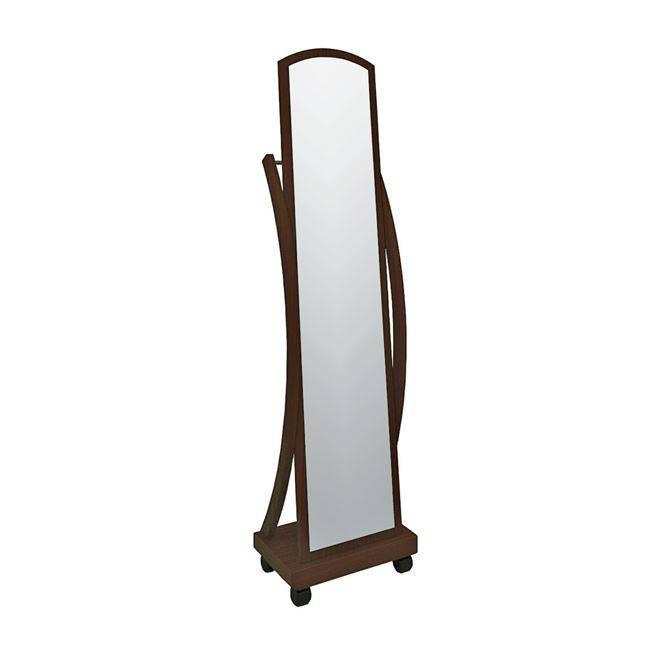ROGER Καθρέπτης Δαπέδου 44x29x165cm Καρυδί Ε7183,2