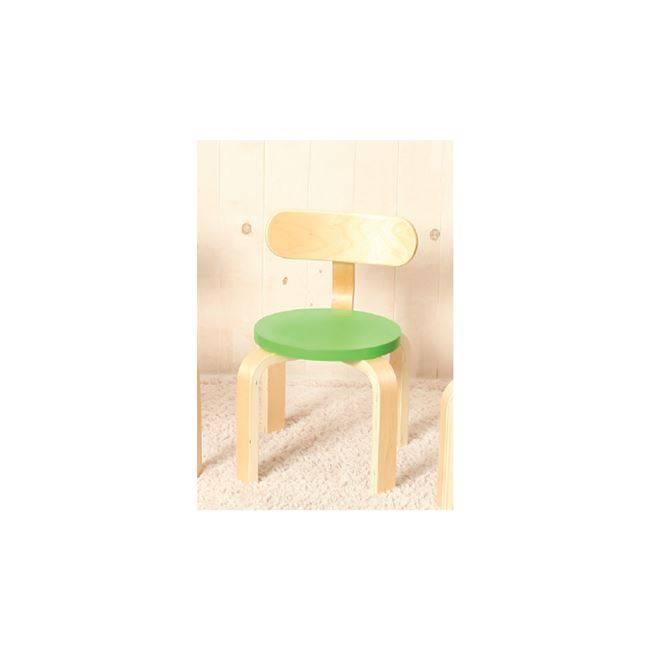 KID-FUN Παιδική Καρέκλα Σημύδα/Πράσινο Ε7201,2