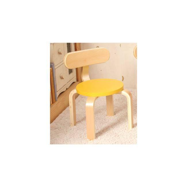 KID-FUN Παιδική Καρέκλα Σημύδα/Κίτρινο Ε7201,3