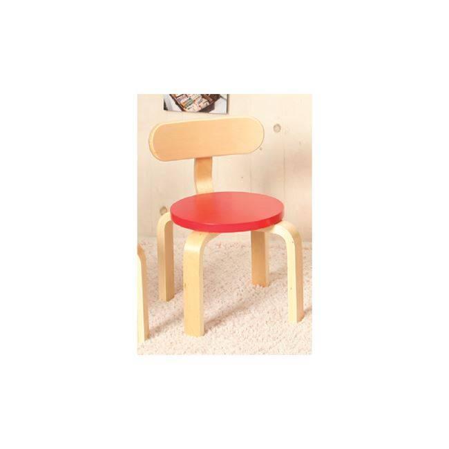 KID-FUN Παιδική Καρέκλα Σημύδα/Κόκκινο Ε7201,4