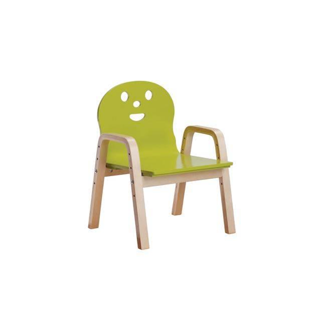 KID-FUN Παιδική Πολυθρόνα Σημύδα/Πράσινο Ε7202,2