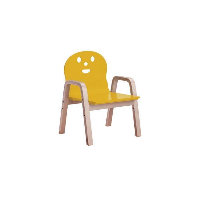 KID-FUN Παιδική Πολυθρόνα Σημύδα/Κίτρινο Ε7202,3
